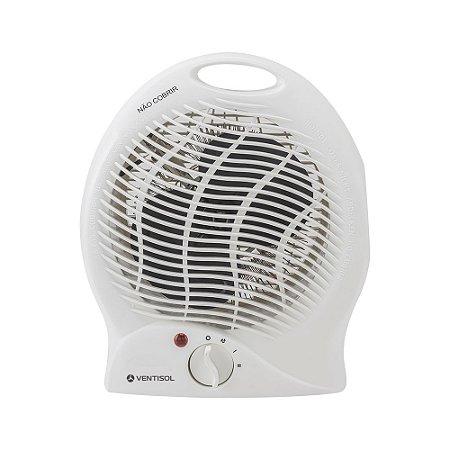 Aquecedor Elétrico 220v Termo ventilador Portátil Ventisol Bc 2000w A1-02 Branco