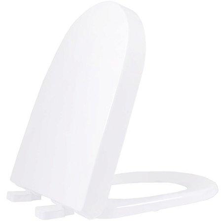 Assento Sanitario Plastico Carrara TF Convencional Branco - ADCN17