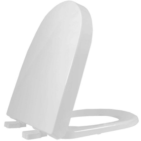 Assento Sanitário Plástico Carrara TF Soft Close Cinza - ADLK87S