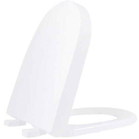Assento Sanitário Plástico Carrara TF Soft Close Gelo - ADLK17S