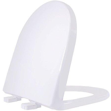 Assento Sanitário Plástico Riviera PP Convencional Branco - RIVPPE01C