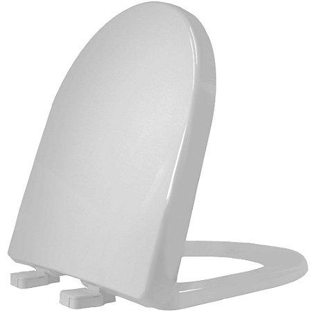 Assento Sanitário Plástico Riviera PP Convencional Cinza - RIVPPE77C
