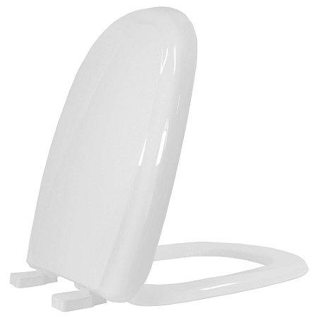 Assento Sanitario Plástico Sabatini PP Soft Close Cinza Claro - Icasa - AST903