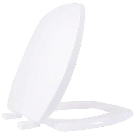 Assento Sanitario Plastico Thema TF Soft Close Branco - THTF00SC