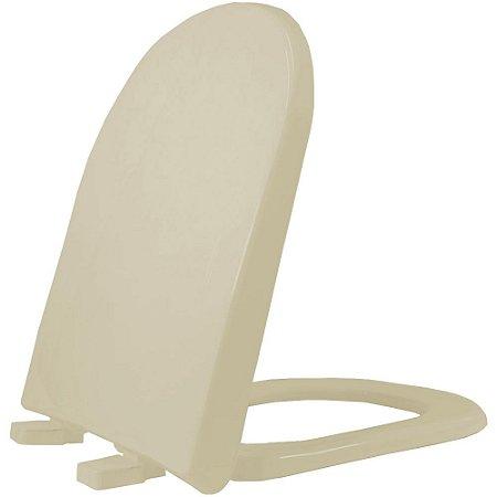 Assento Sanitário Plástico Vogue PP Soft Close Creme37 - VPPE37S