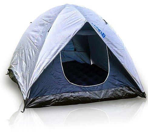 Barraca De Camping 4 Pessoas Com Sobreteto 800mm Luna MOR
