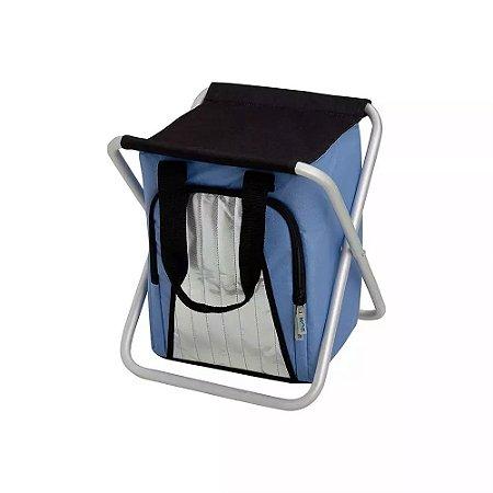 Bolsa Termica Ice Cooler Banqueta 25 Litros Azul