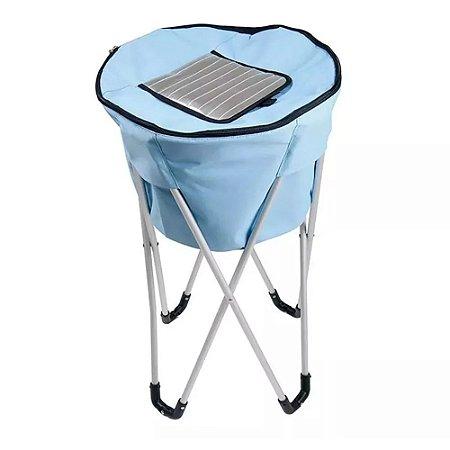 Bolsa Térmica Ice Cooler Pedestal 32 Litros Azul
