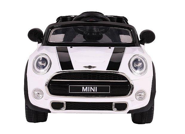 Carro Elétrico Infantil Mini Cooper 12V Branco