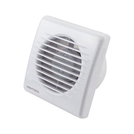 Exaustor Para Banheiro 100mm (Embutir ou Sobrepor) Branco 127v