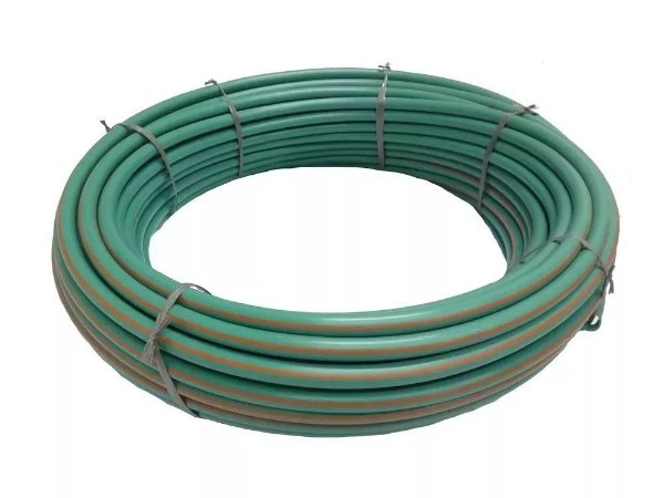 Mangueira Anti UV Verde 1/2X2,5mm - 50m