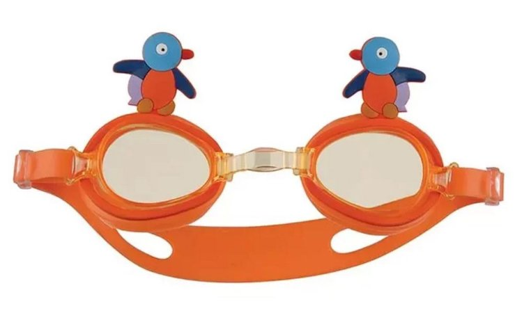 Oculos Natacao Infantil Bichinho LARANJA