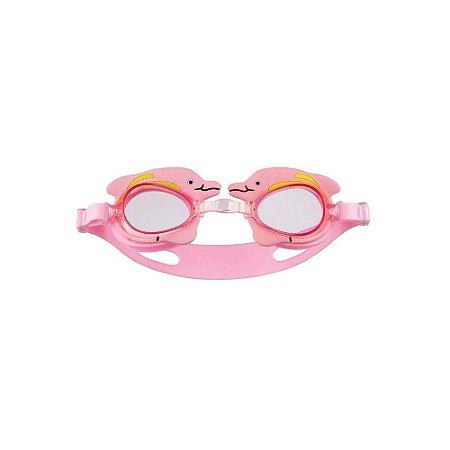 Óculos Natação Infantil Bichinho MOR - Rosa