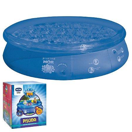Piscina Inflável Redonda 4600 Litros Azul Splash Fun - MOR