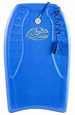 Prancha Bodyboard 102X54cm Azul MOR
