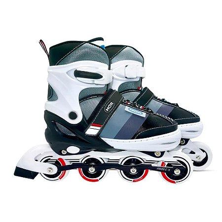 Roller Semi-Pro Cinza G Numeração 38-41 MOR