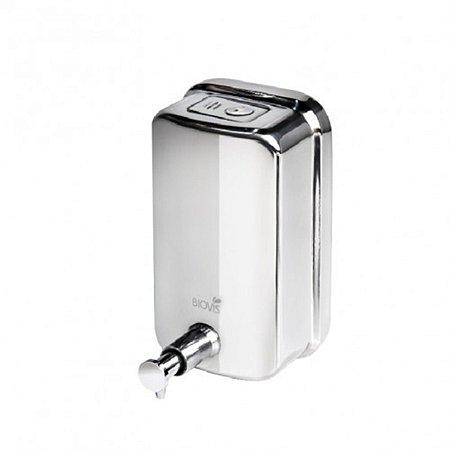 Saboneteira De Parede Dispenser Sabonete Liquido Inox Polido 500ML VISIUM