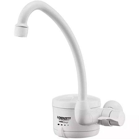 Torneira Elétrica Loren Easy 4 Temperaturas Branca 4800w 127v
