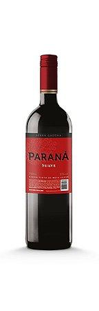 Vinho Tinto de Mesa Suave 750ml Paraná