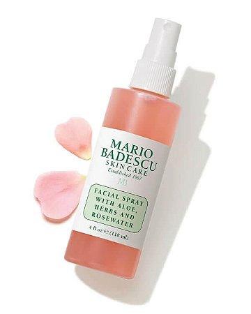 Spray Facial com Aloe, Herbs e Rosewater