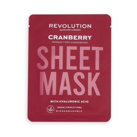 Sheet Mask Cranberry