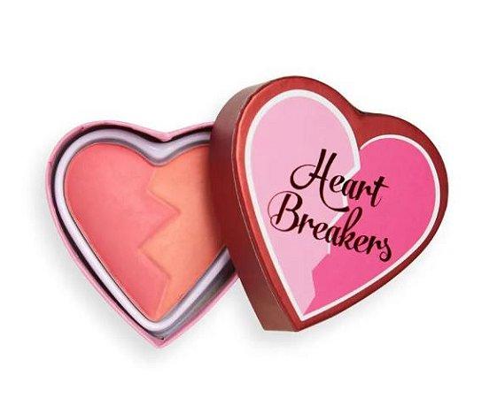 Blush Matte Heart - Inspiring