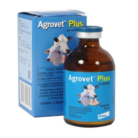 Agrovet Plus Solução Injetável