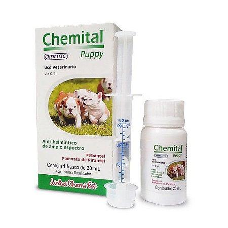 Vermífugo para Cães Chemital Puppy 20 ml