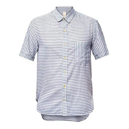 Camisa Kore Listra Off + Preto