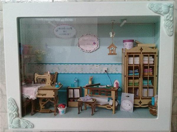 Miniatura decorativa Atelier de Costura