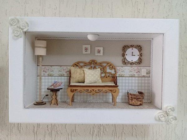 Miniatura Artesanal Sala de Estar