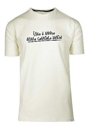 Camiseta Essa É Minha Última Camiseta Limpa