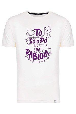 Camiseta Tô Só O Pó Da Rabiola