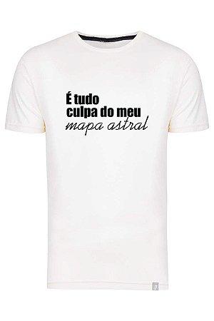 Camiseta É Tudo Culpa Do Meu Mapa Astral