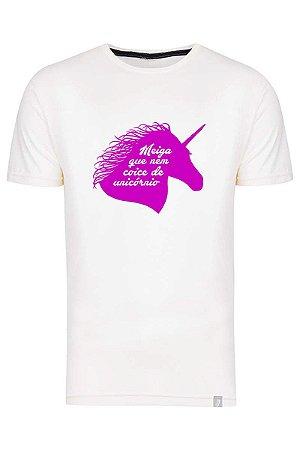 Camiseta Meiga Que Nem Coice De Unicórnio