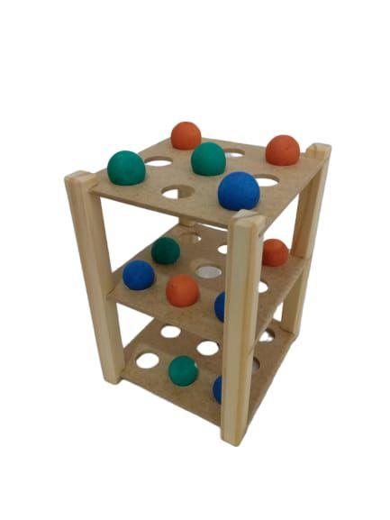 Jogo da Velha Tridimensional- JAC Oficina de Madeiras