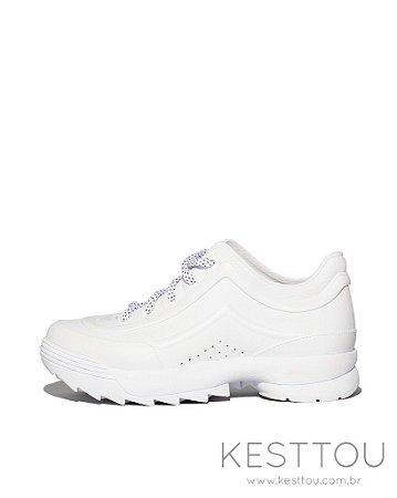 Tenis Feminino Kesttou KTTN03 Branco - Grade C/12 Pares