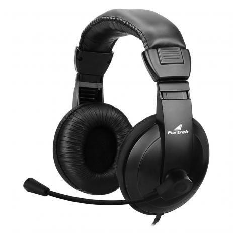 Headset Fortrek Multimídia HSL-102 62889 Preto