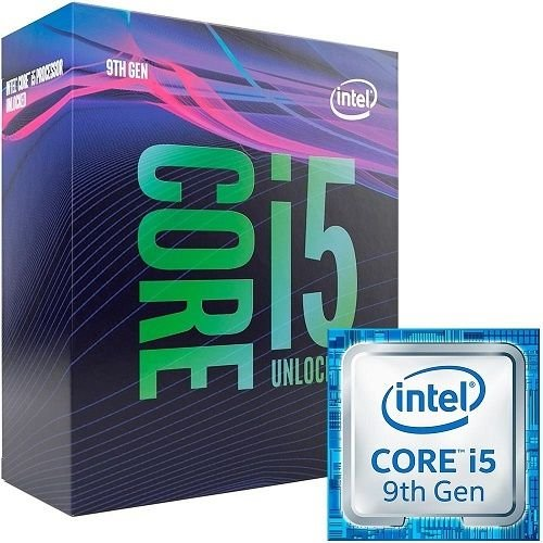 Processador Intel Core i5-9600K LGA 1151 Coffee Lake Refresh Cache 9MB 3.7GHz (4.6GHz Max Turbo)