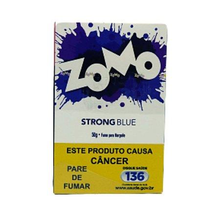 Essencia Narguile Zomo Strong Blue 50g - Unidade