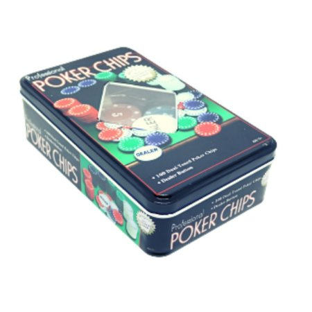 Jogo Poker Lata 100 Fichas - Unidade