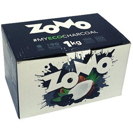 Carvão Zomo Fibra de Coco - Display 1 Kg
