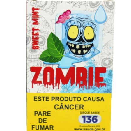 Essencia Narguile Zombie Sweet Mint 50g - Unidade