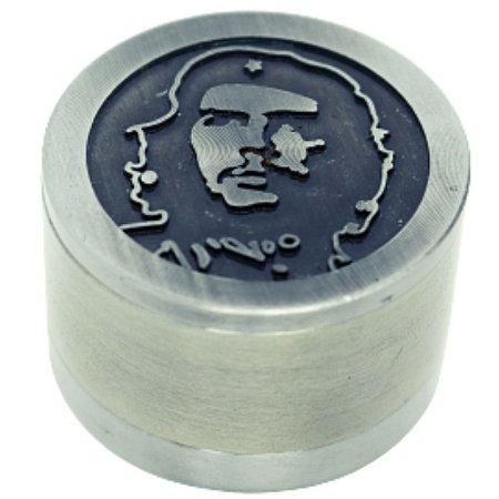 Dichavador Metal Médio Alto Relevo Che Guevara 3 Partes - Unidade