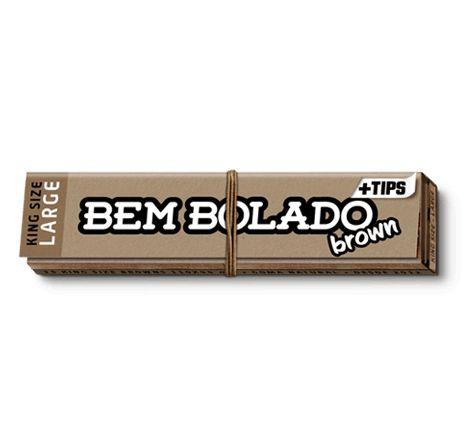 Seda Bem Bolado Brown + Tips King Size Large - Unidade