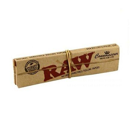 Seda Raw Classic + Piteira King Size - Unidade