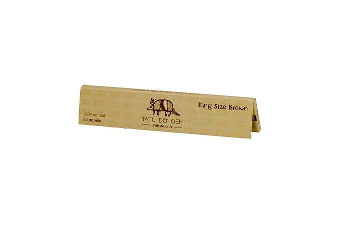 Seda Tatu Do Bem Brown King Size - Unidade