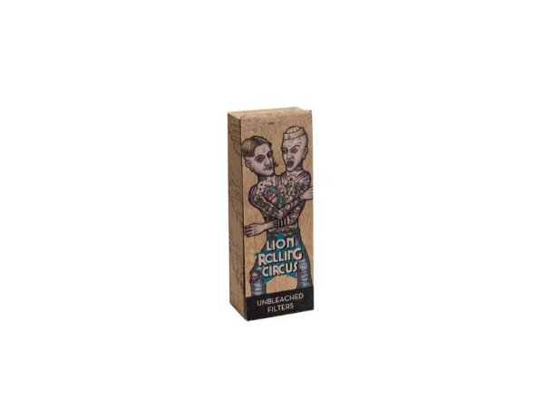 Piteira Lion Rolling Circus Unbleached 20mm - Unidade
