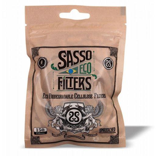Filtro Sasso Biodegradavel 6mm - Unidade