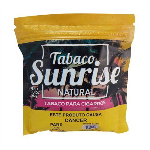 Tabaco Sunrise 25g - Unidade